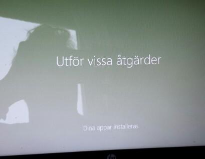 Windows uppgradering